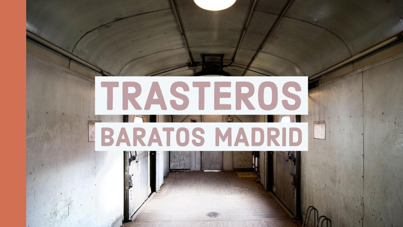 Trasteros baratos madrid capital grupanxon garages for Trasteros prefabricados baratos