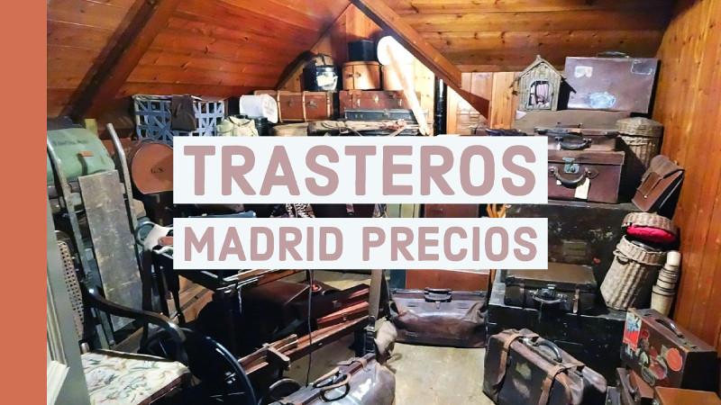 trasteros madrid precios